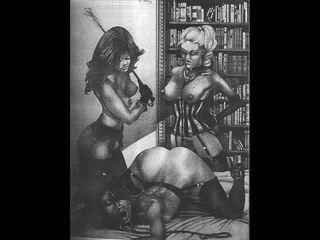 Oldie erotisch bdsm artworks