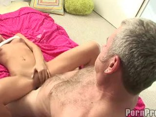 Lusty small boobed tanner mayes getting her bawdy cleft cracked by a monstr jock