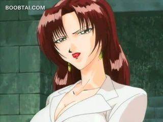Sexo prisoner anime gaja gets cona rubbed em undies