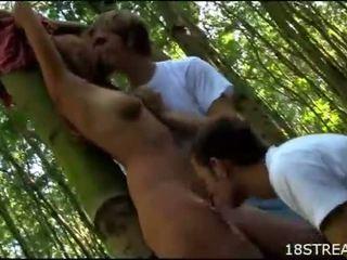hardcore sex, outdoor sex, group sex