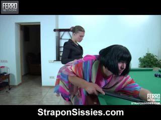crossdress xem, chất lượng khiêu dâm miễn phí trên video, nóng nhất strapon sex
