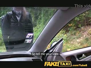 fals, taxi, blondă