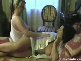 বিগ boobs, সমকামী স্ত্রীলোক, অপেশাদার
