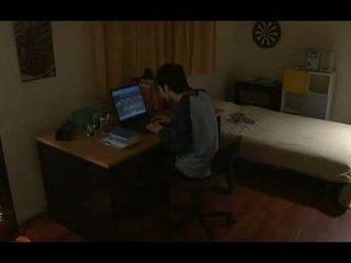 japānas, pornogrāfija, solo