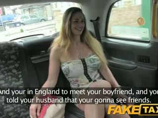 Hungarian with hot body and tits - Fake Taxi