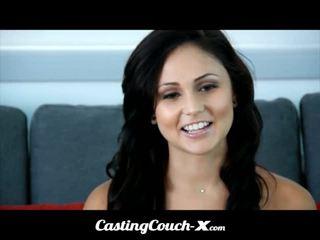 鑄件 couch-x dumb 佛羅里達 女孩 loves 到 他媽的 上 凸輪