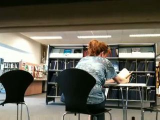 Fat Bitch Flashing In Public Library