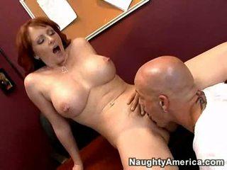 Hot busty cougar kylie ireland bangs student