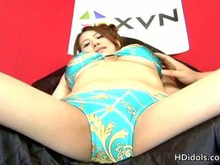 Yui Aoyama Has An Intense Masturbation