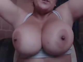Sexy134: 大 自然 奶 & 攝像頭 色情 視頻 59
