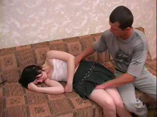 Dronken sister molested door broer