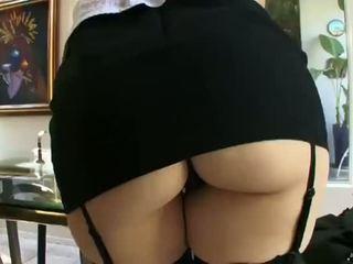 big dick, couch, glasögon