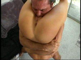 penis, tittyjob, gagged