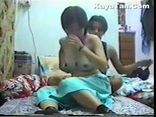 Malay china pareja sexo bajo oculto cámara