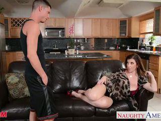Sexy mẹ sara jay gets fucked lược và facialized