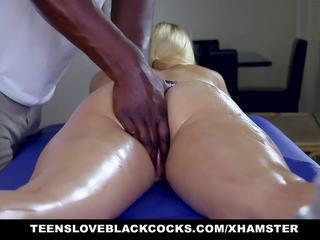 blondes, masseur, fucked