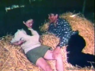 Neuken binnenin de hay