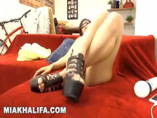 Mia khalifa - hanging uit met mijn fans op camster