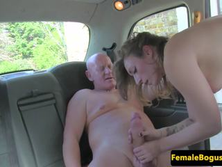 British Cabbie Babe Doggystyled on Backseat: Free Porn a7
