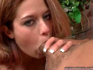 Trisha Rey Gulps A Massive Load Of Peak After Giving Head