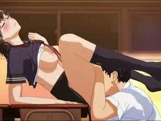 hentai, anime, schülerin