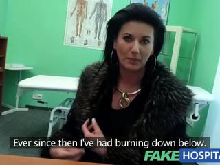 Fakehospital fiksu läkkäämpi seksikäs milf has a seksi confession