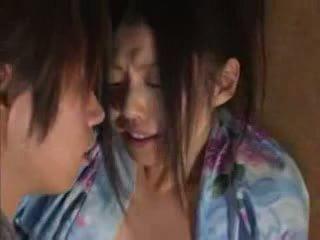 Japānieši ģimene (brother un sister) sekss part02