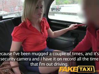 FakeTaxi Red hot milf gets fucked hard