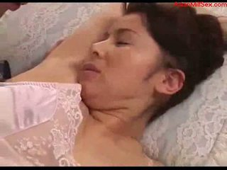 Hot mom aku wis dhemen jancok with tied arms licked fingered stimualted with to