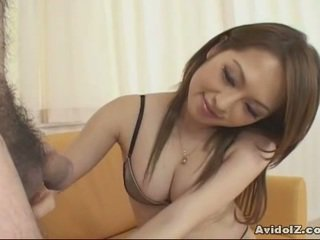 Heet japans babe gives mees baan follwed door cumshot