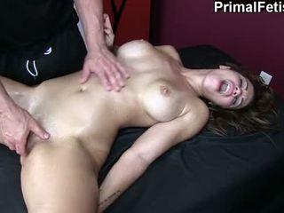 spuitende, erotische massage, massage