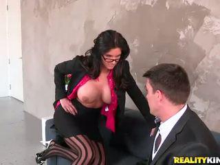 bago glasses ideal, malaki big tits, sa turing stockings