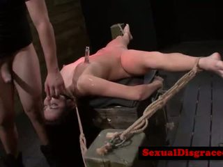 Petite bdsm fetish hottie treated harsh