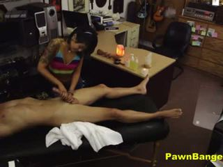 Hot Sexy Asian Fucks Her Customer
