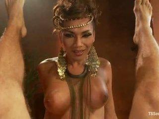 Ts yasmin lee som cleopatra tsseduction com spesiell funksjonen
