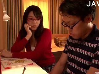 giapponese, sborrata, culo