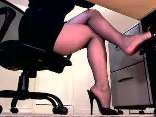 femdom, benen, domina
