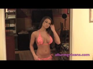 Pink Lace Underwear