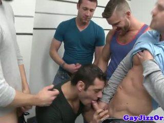 gruppensex, homosexuell, muskel