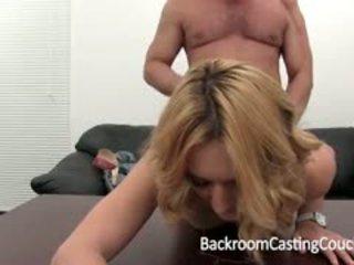 Tara auditions anally varten takahuone valu sohvalla