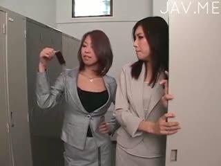 japanisch, lesbisch, finger