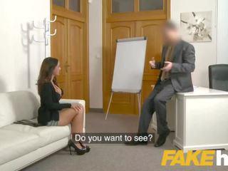 Fake agent spunk loving tattooed hiszpańskie laska claudia bavel w seks casting