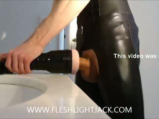 Rokovanje quickie wearing slickitup-chaps wi