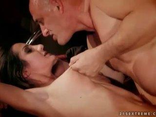 Alice Romain getting bondaged and fucked