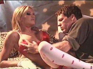 Briana banks im weiß sexy strümpfe having sex