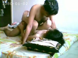 Καυτά ζευγάρι having σεξ σε υπνοδωμάτιο
