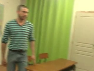 student, french, teacher
