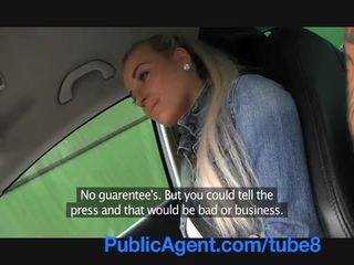 PublicAgent Hot blonde teen fucking in my car