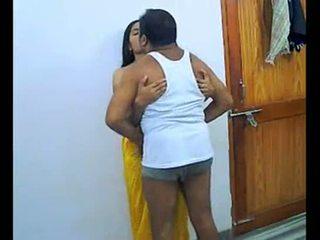 Indian couple enjoying romantic