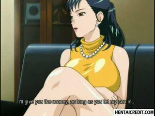 Hentai bé gets cô ấy chặt chẽ ass brutally fucked lược
